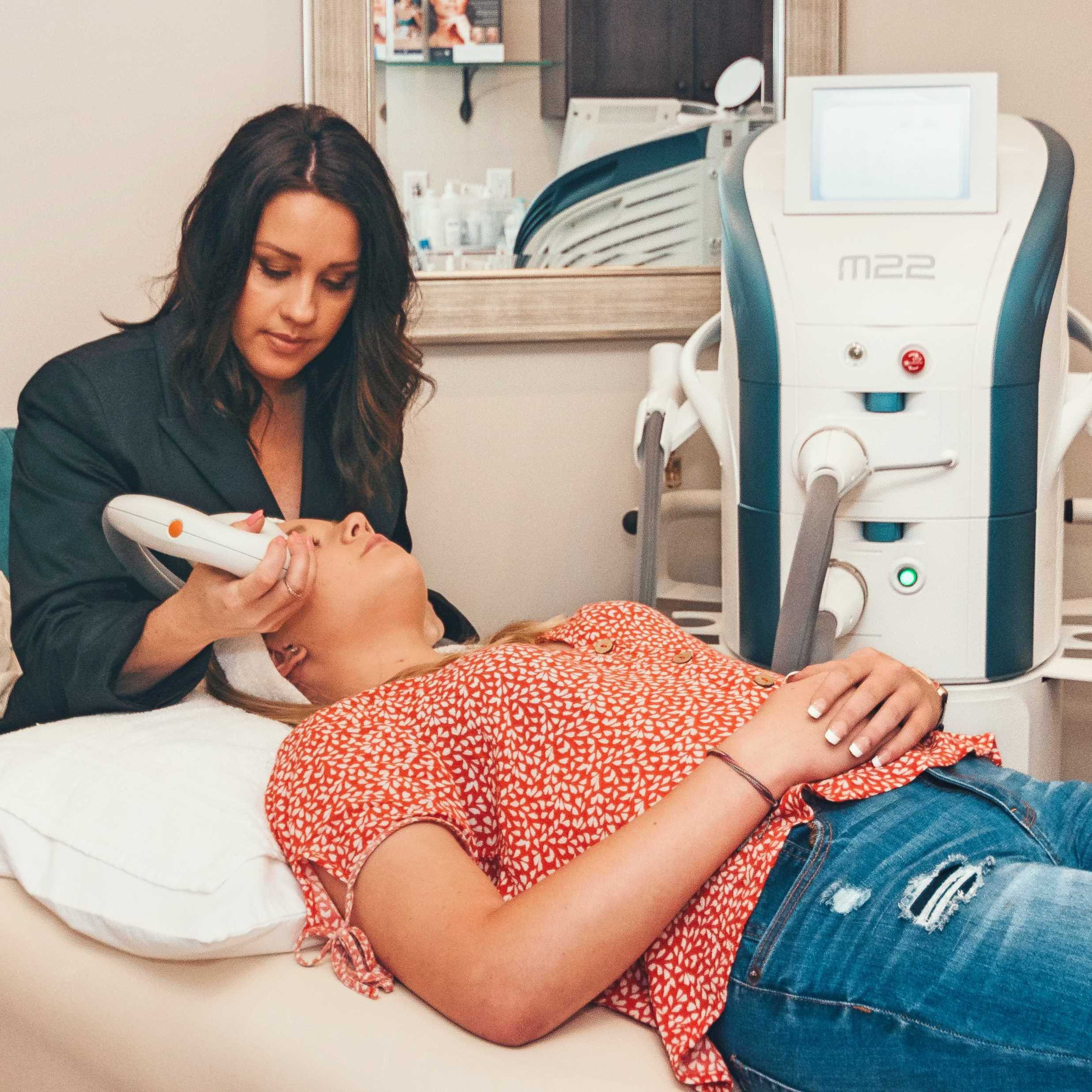 Intense Pulsed Light IPL Photofacial Photorejuvenation Medical Esthetics Springfield Missouri